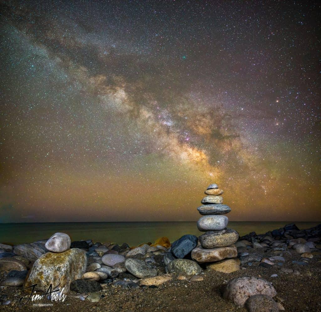 252P Kuyruklu Yıldızı ve Samanyolu Galaksisi