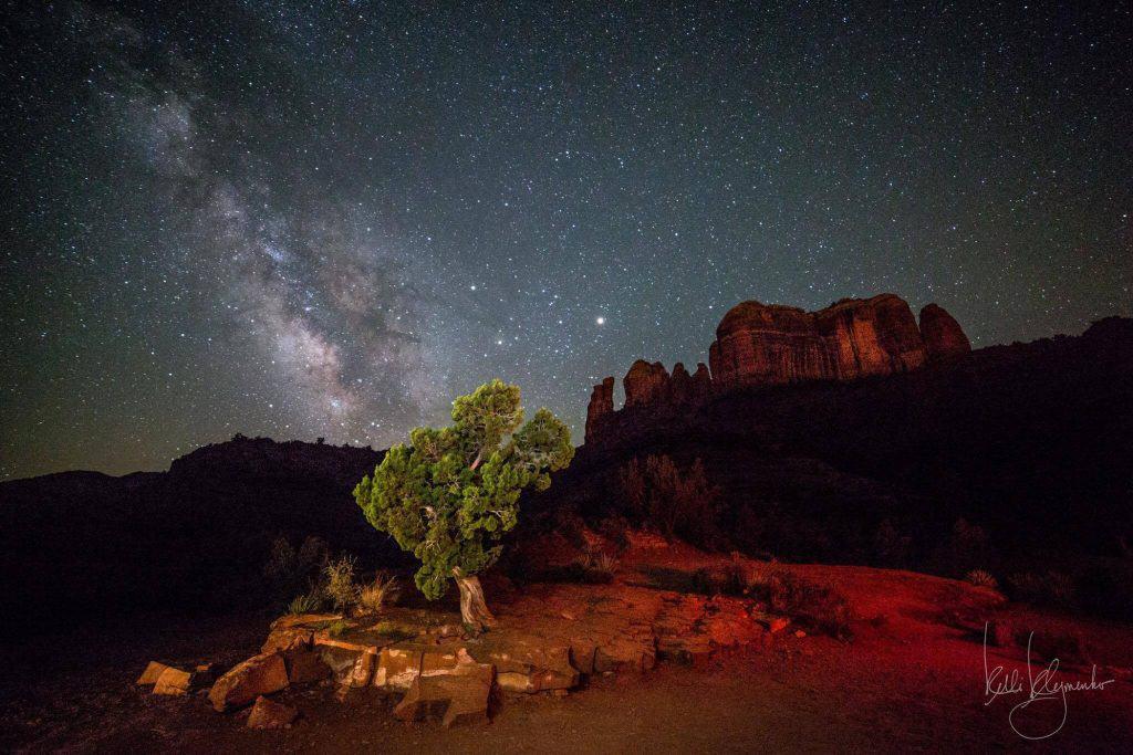 Arizona ve Samanyolu Galaksisi