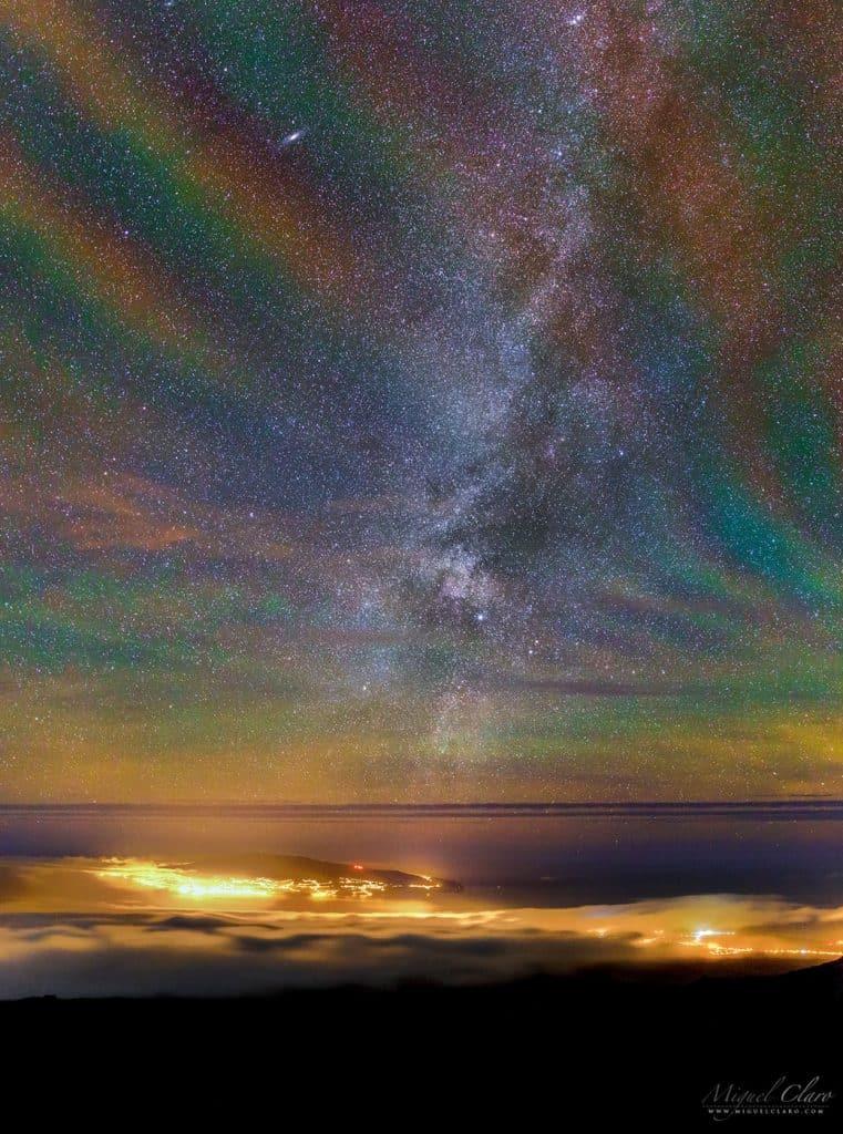 Manyetik Dalgaların Oluşturduğu Gökkuşağı