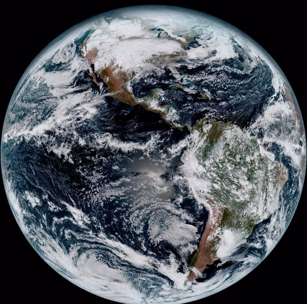 GOES-16 Uydusundan İlk Görüntüler