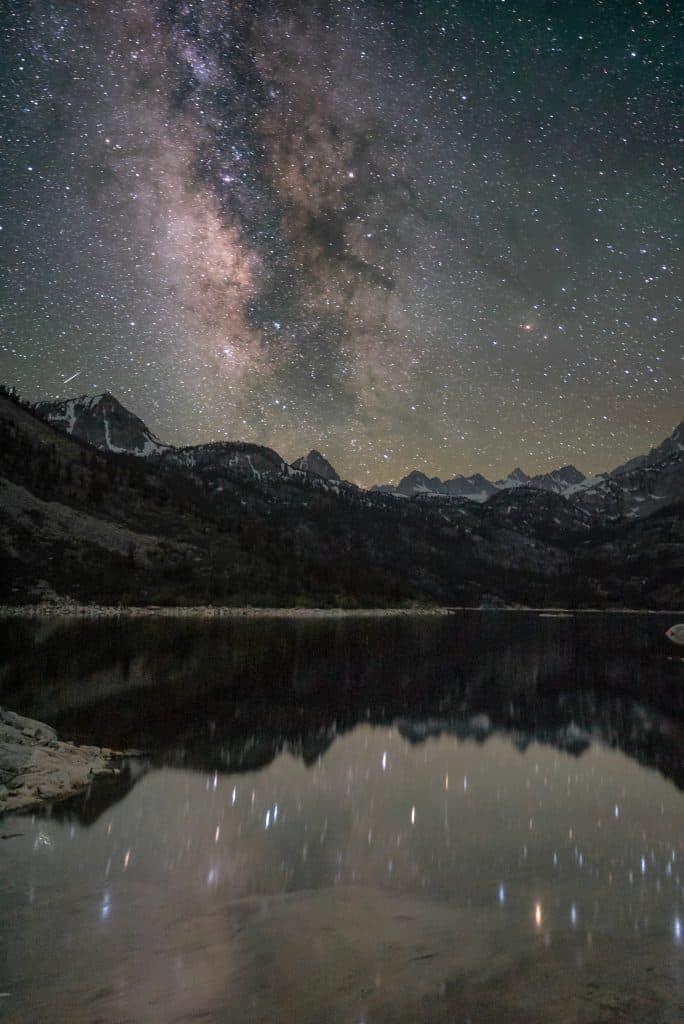 Samanyolu Galaksisi Yansıması