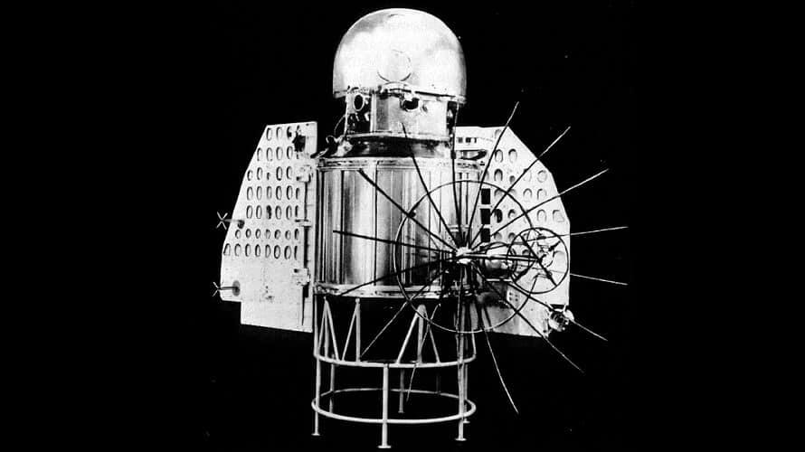 Rusya'nın Venüs'e gönderdiği ilk uzay aracı olan Venera 1'in görünümü