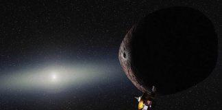 New Horizons Uzay Aracı ve 2014 MU69