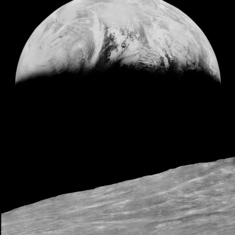 Ay ve Dünya'nın Birlikte İlk Fotoğrafı