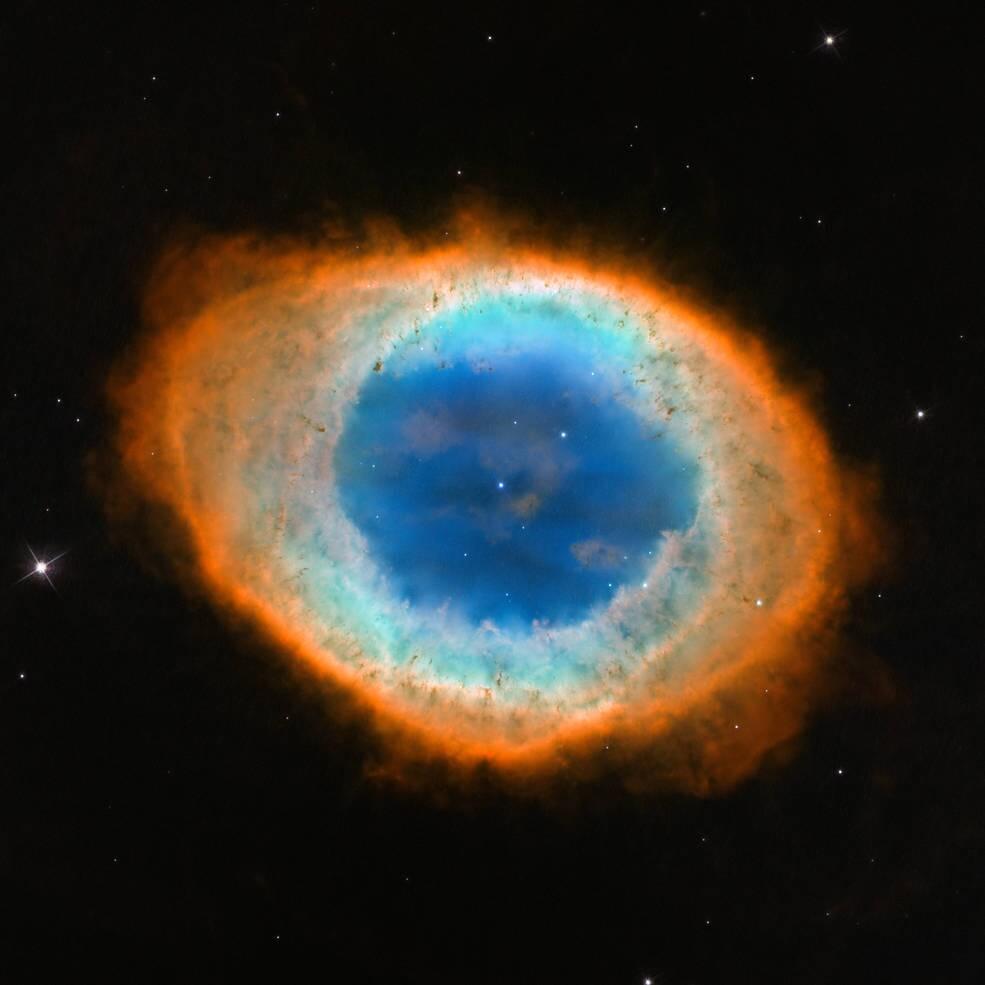 Halka Nebulası (Helix)