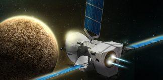 BepiColombo uzay aracı ve Merkür