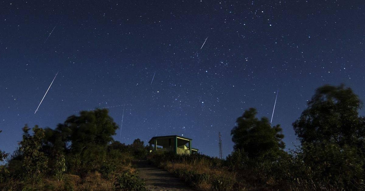 2018 yılı Orionid Meteor Yağmuru