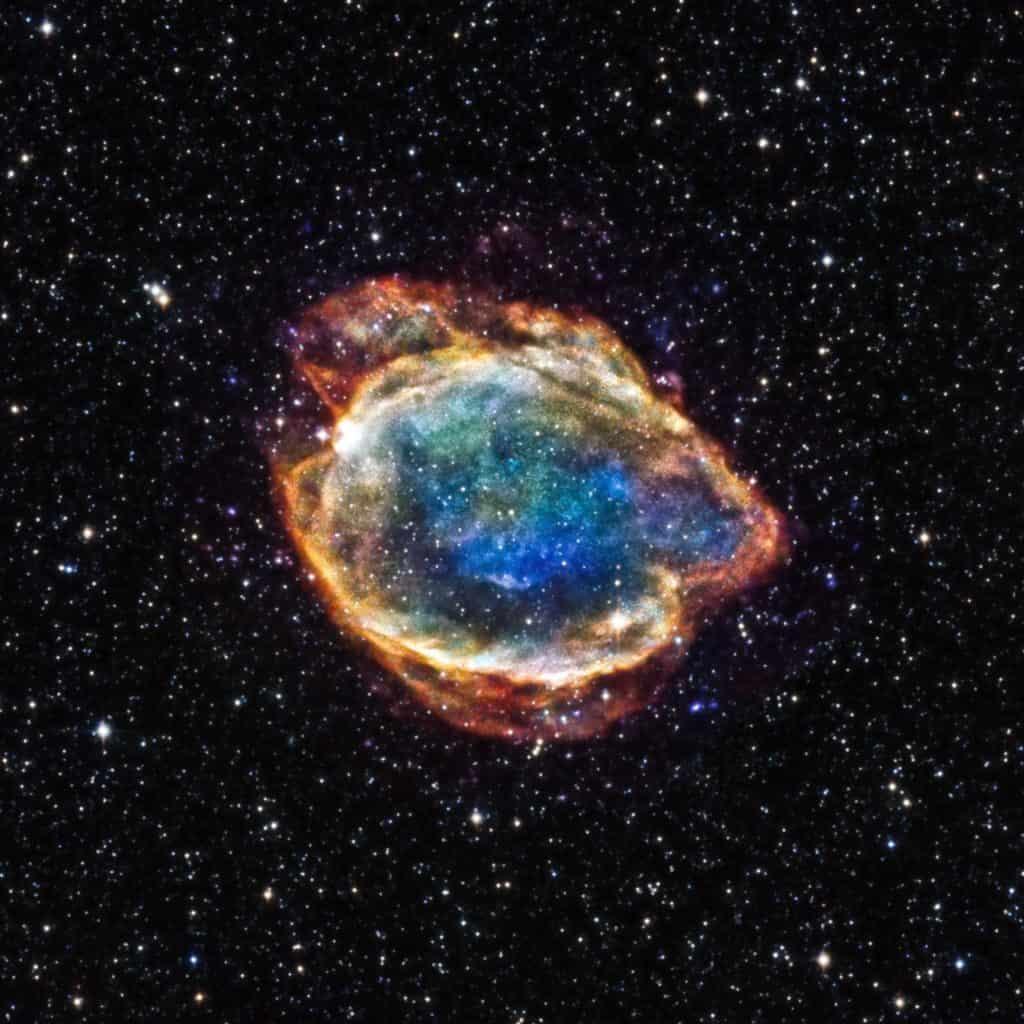 Süpernova Sonrası Görünüm