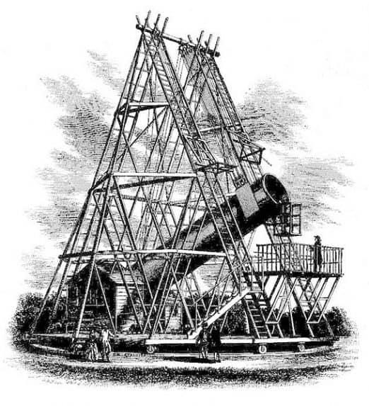 William Herschel'in 12 metrelik teleskopu