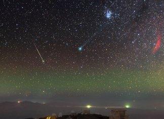 46P/Wirtanen kuyrukluyıldızı Dünya'ya en yakın geçişini gerçekleştirecek.