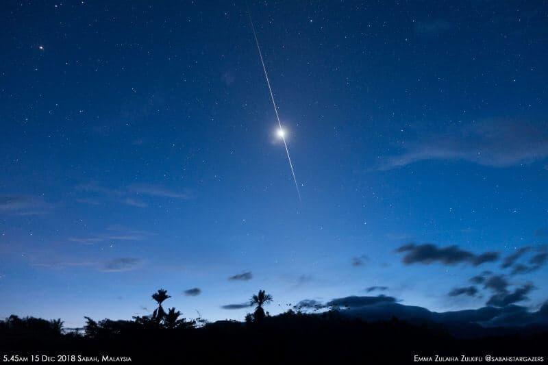 Meteor Venüs'ü İkiye Böldü