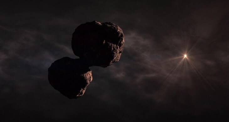 Ultima Thule(MU69) Görünümü