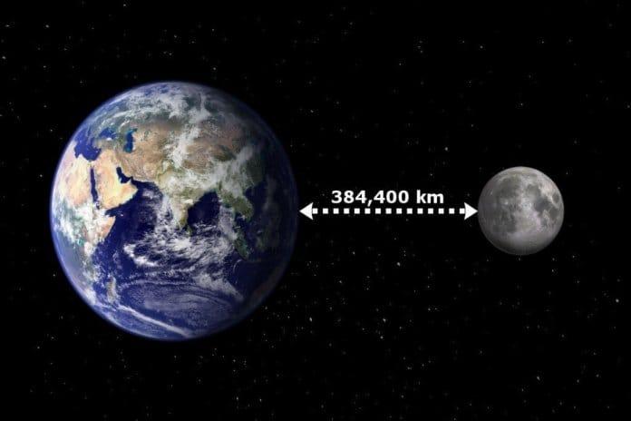 Ay ile Dünya arasındaki mesafe ne kadardır?