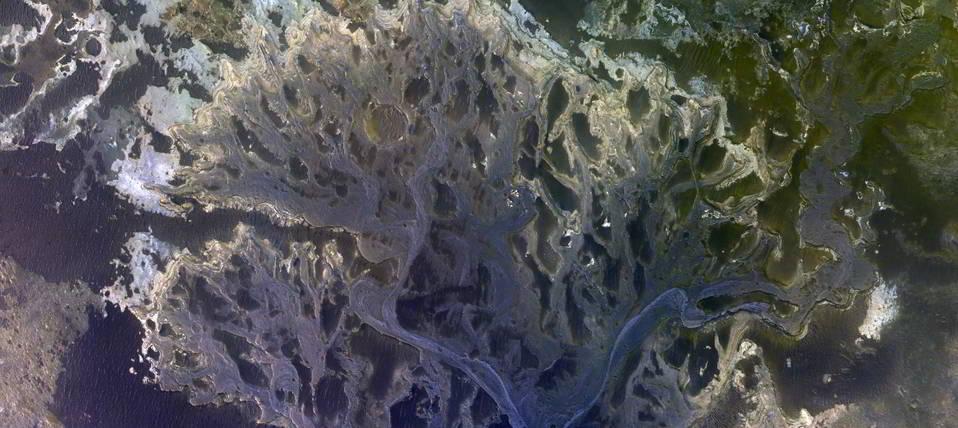 Eberswald Krater Deltası, Mars