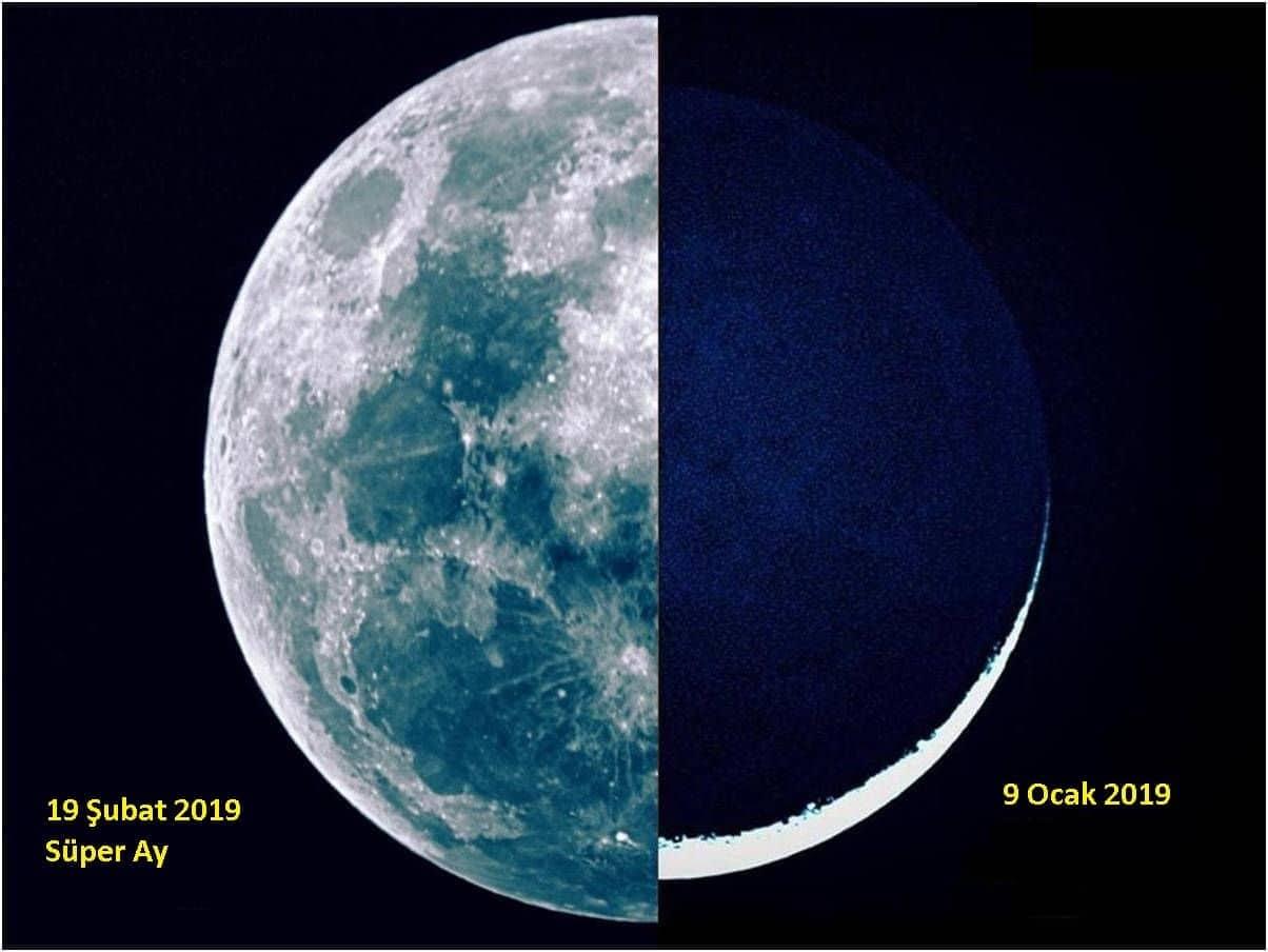 Süper Ay ve Dolunay Farkı