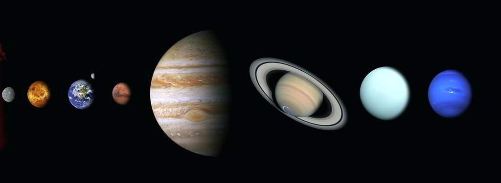 Gezegenlerin Büyüklük Sıralaması