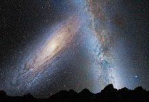 Samanyolu ve Andromeda Çarpışması