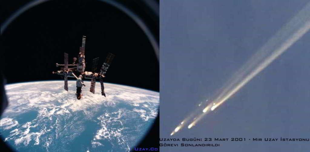 23 Mart 2001 - Mir Uzay İstasyonu görev sonu