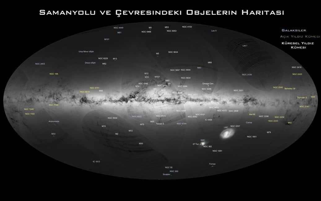 Evrenin Haritası